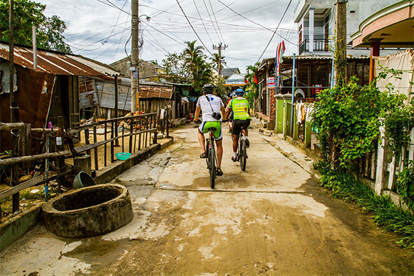 Vietnam to Cambodia Cycle Ride